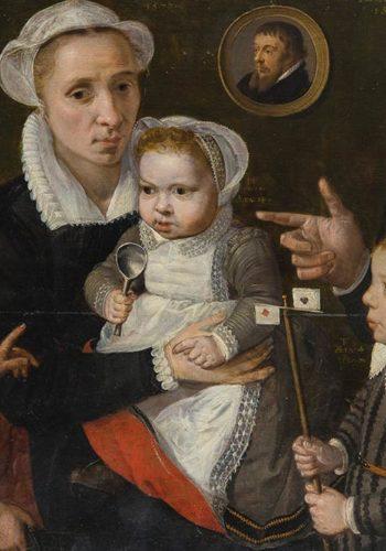Frans Francken, Portrait de famille © L. Olivier