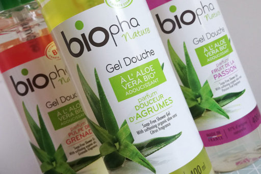 Biopha Nature : gels douche et shampooings 100% bio