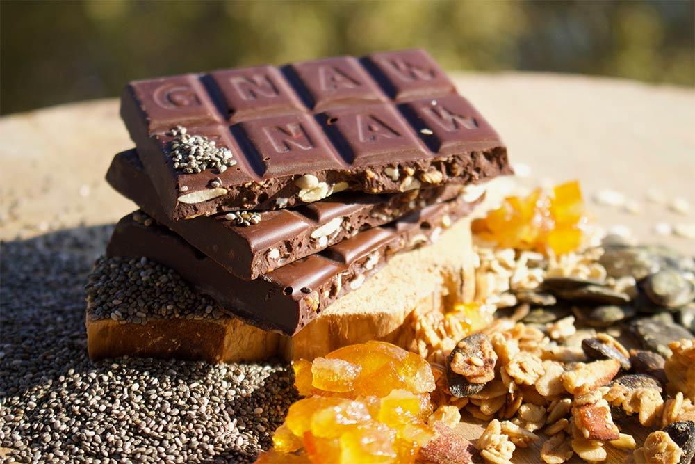 Tablettes chocolat noir et Granolas
