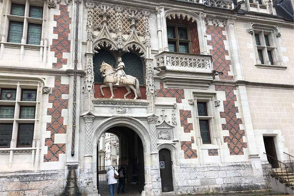 Entrée du Château de Blois