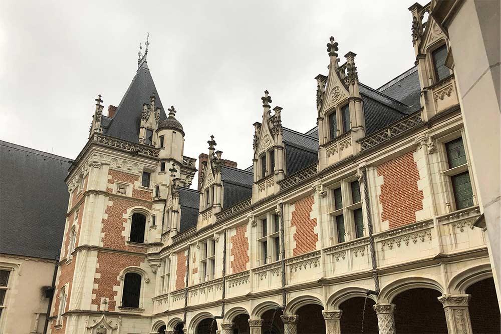 L'aile gothique de Louis XII (1498-1500)