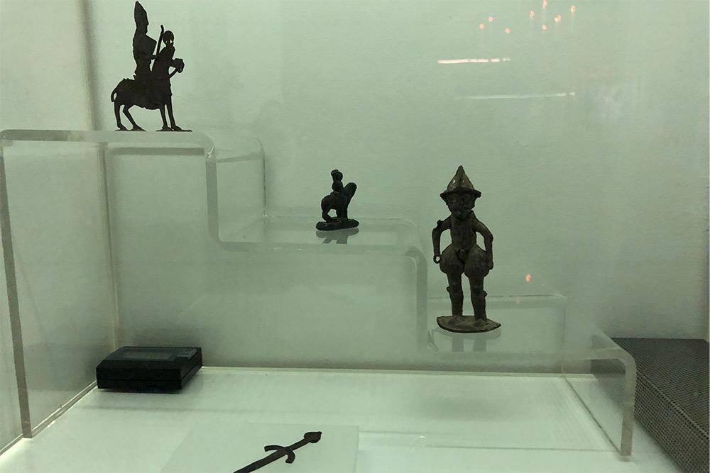 Objets trouvés lors de fouilles de l'Inrap