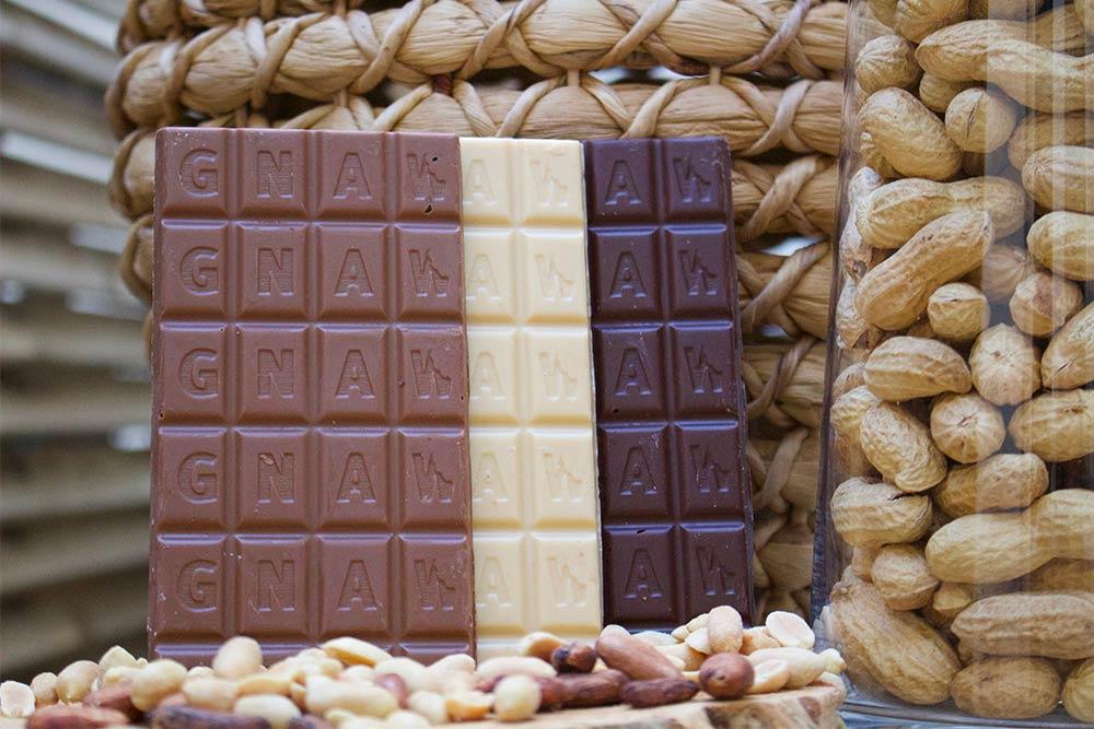 Tablettes beurre de cacahuètes