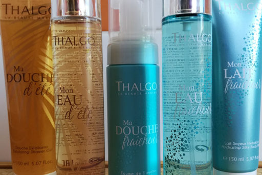 Thalgo : Fraîcheur et Eté, deux collections qui fleurent bon les vacances !