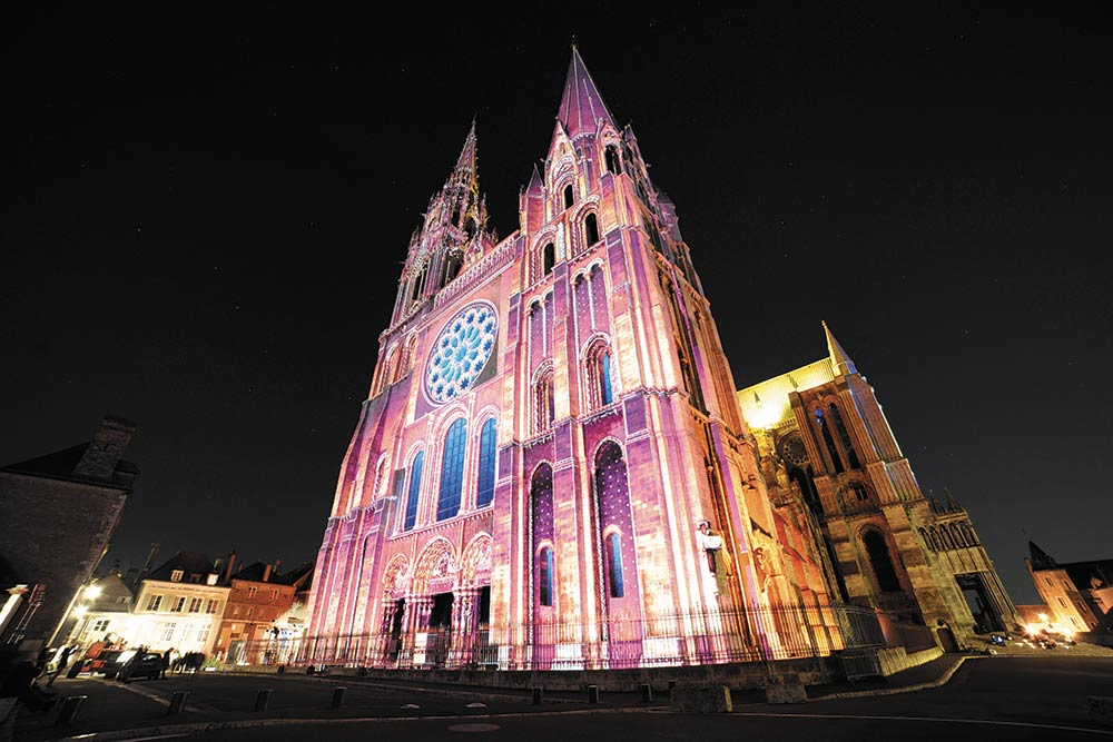 Cathédrale de Chartres rose