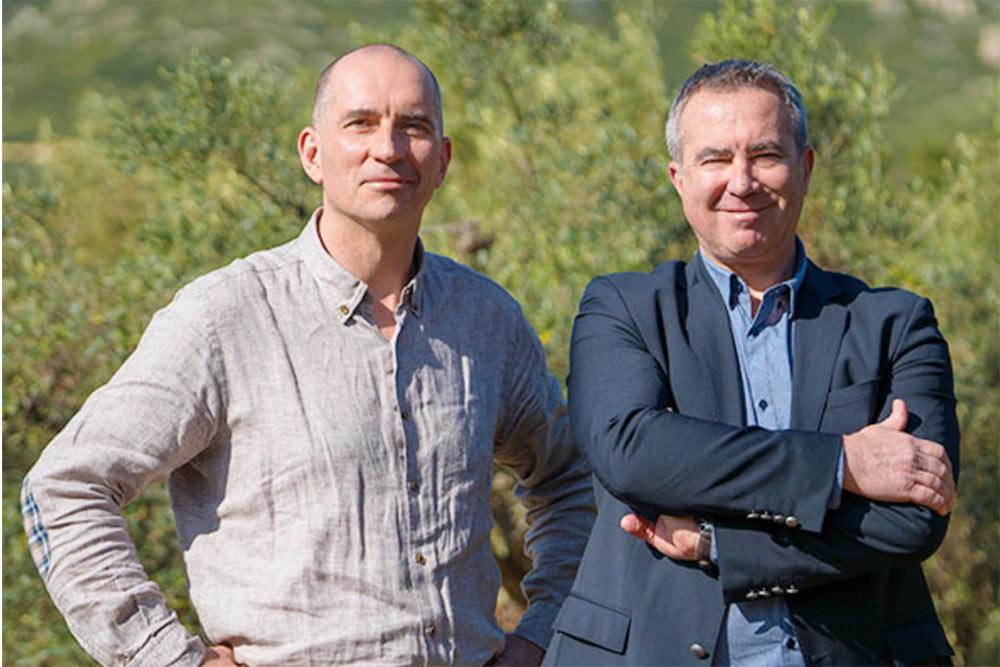 Eric Renard et Xavier Padovani : les fondateurs du Petit Olivier