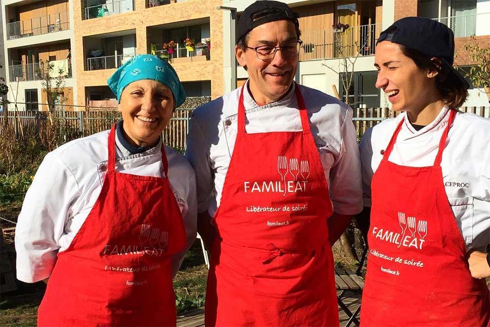 Les Cuisiniers de FamilEat