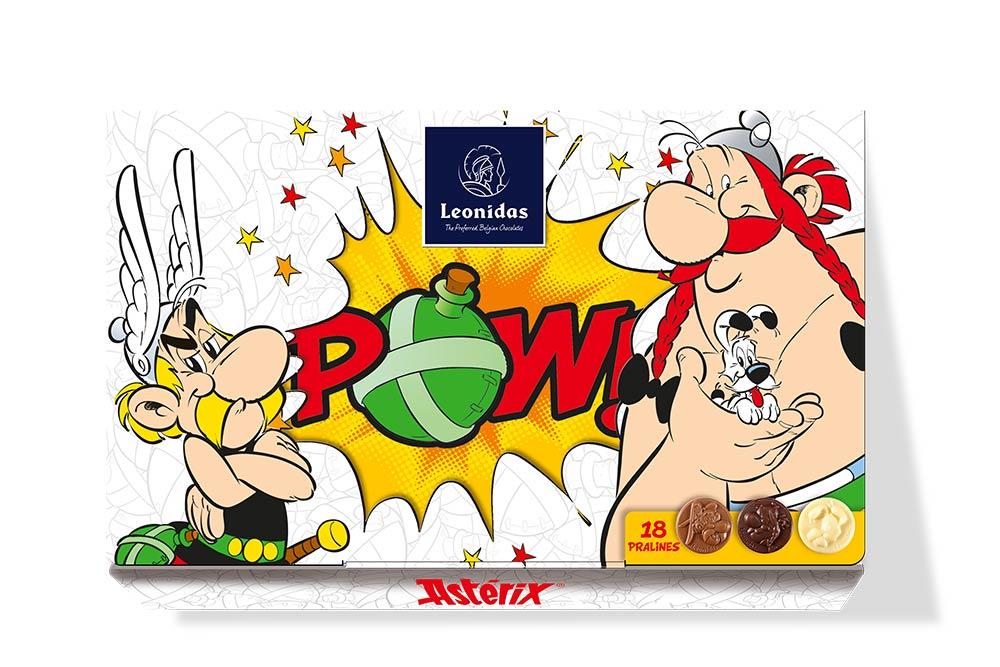 Leonidas boîte POW Astérix