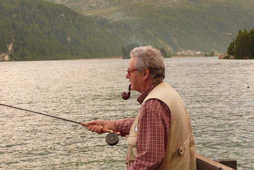 Michel Winthrop aime pêcher