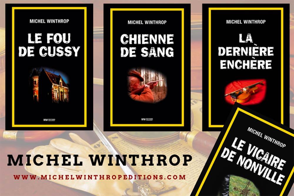 Michel Winthrop romancier