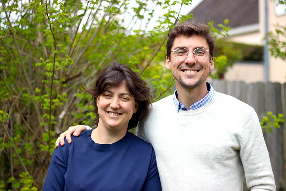 Pierre et Mélanie Barnier les fondateurs de FamilEat