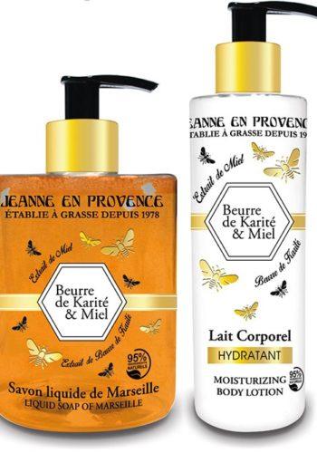 Jeanne en Provence : La gamme Beurre de Karité et Miel