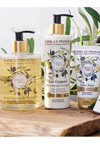 Jeanne en Provence Gamme Divine Olive
