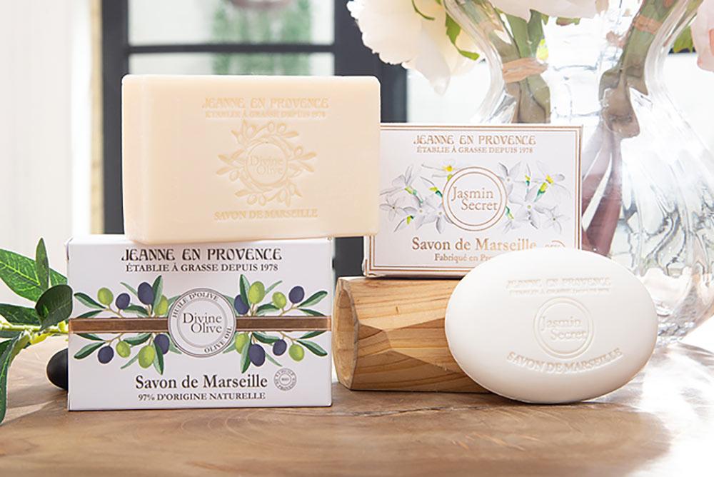 Le Savon Solide de Marseille Jasmin Secret de 100 g
