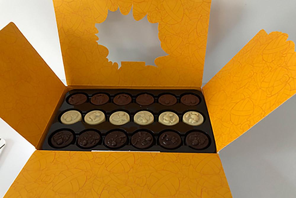 Boite de chocolats Leonidas Astérix