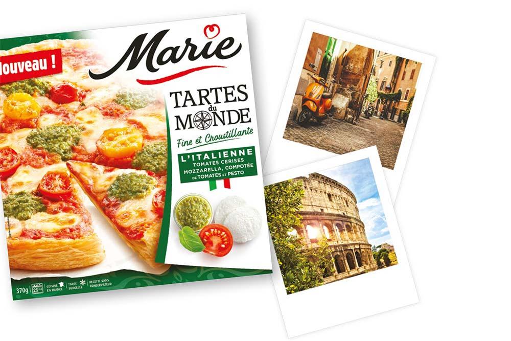 La Tarte Italienne de Marie Tartes du Monde