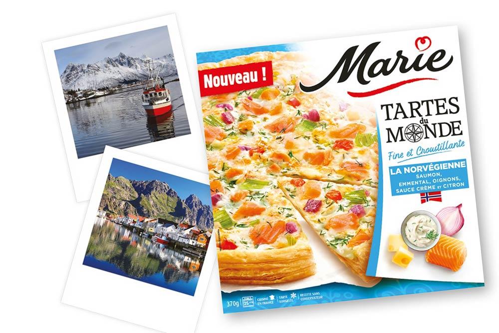 La Tarte Norvégienne de Marie Tartes du Monde