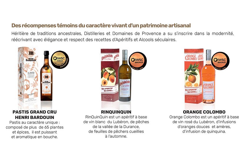 Médailles Distilleries de Provence
