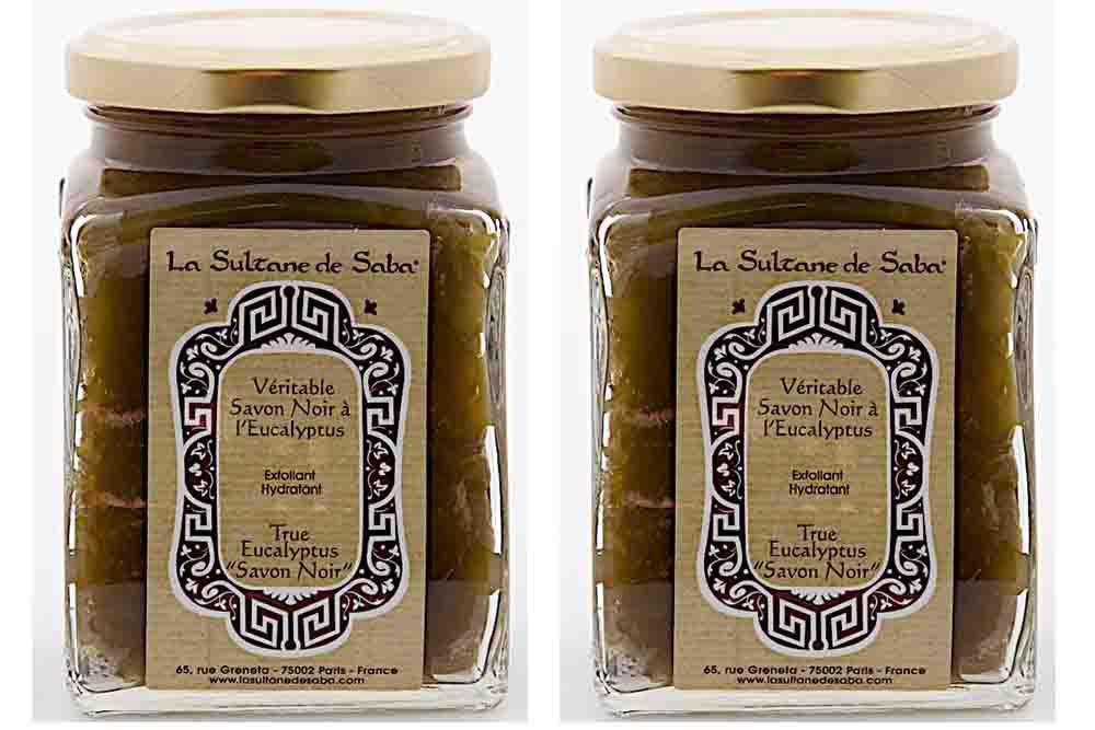 La Sultane de Saba : Le savon noir :Soin gommage à l'orientale pour une peau douce