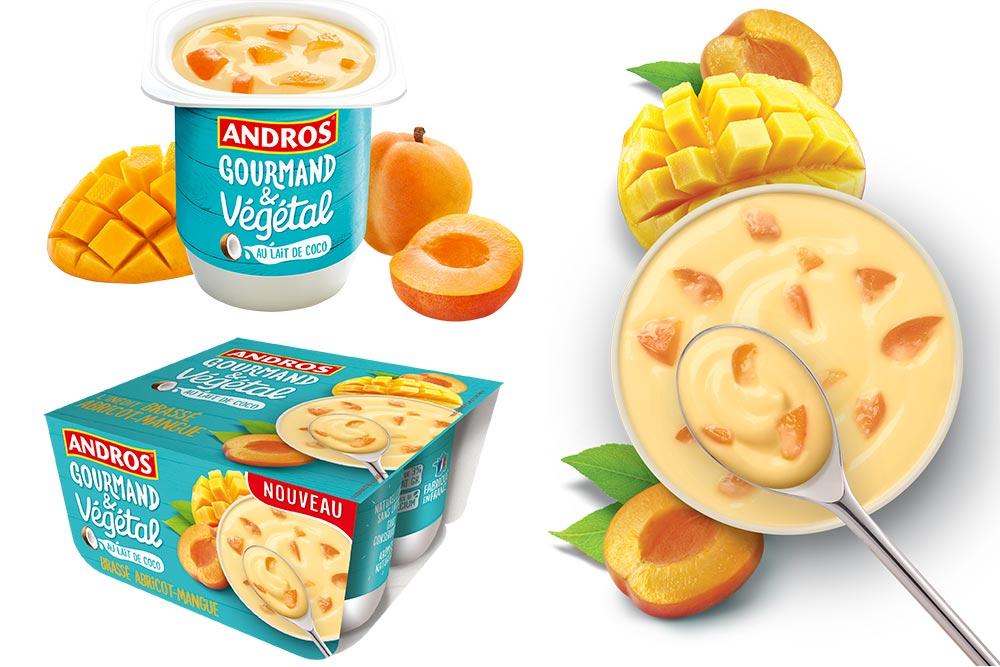 Andros Gourmand et Végétal :Brassé Abricot Mangue