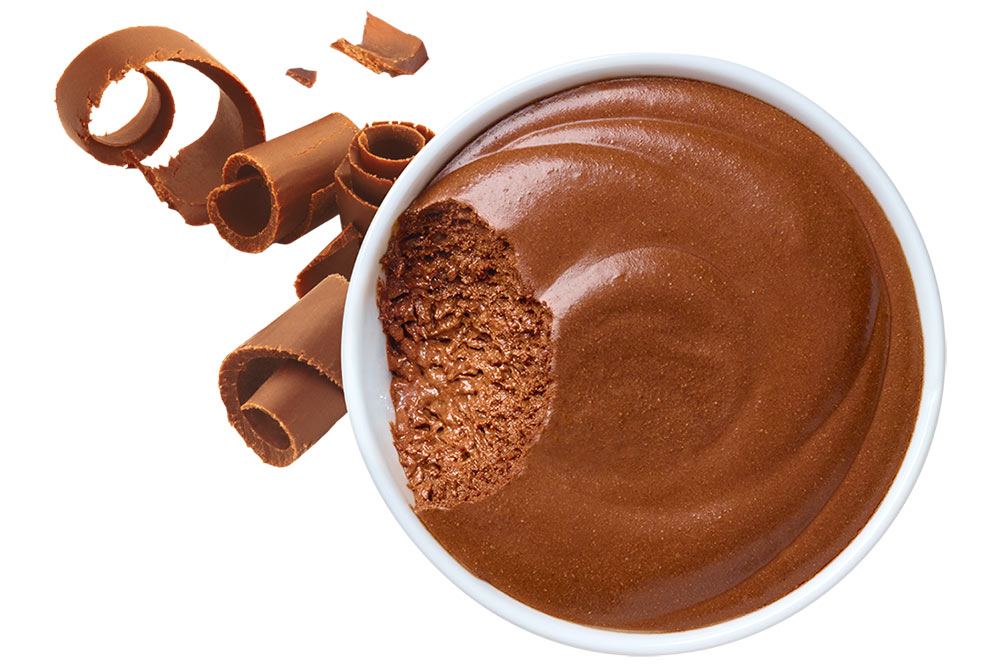 Andros Gourmand et Végétal : mousse au chocolat