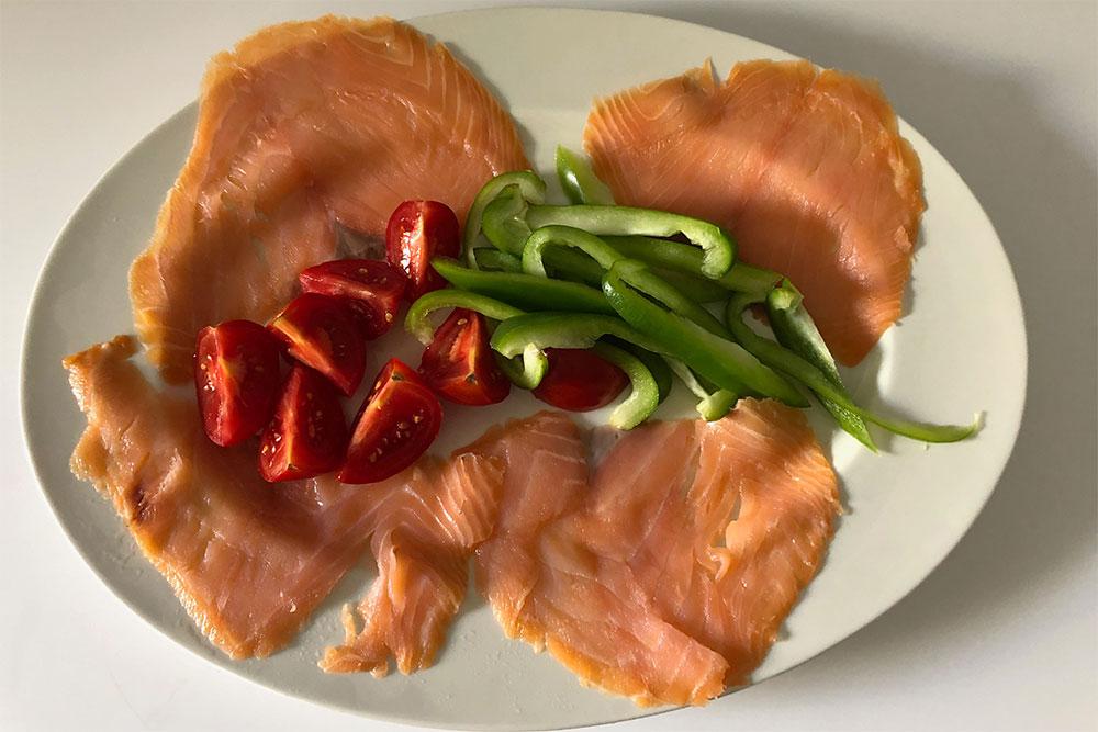 Delpierre : saumon de Norvège sans Antibiotique