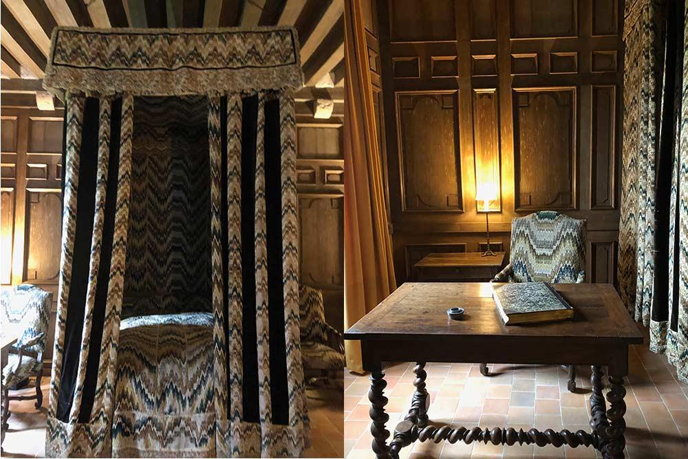 Château de Talcy : La chambre dite de Charles IX