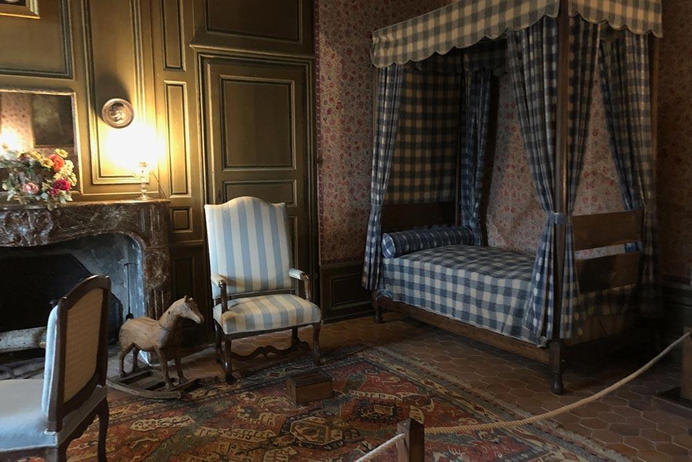 Château de Talcy : la chambre de la fille
