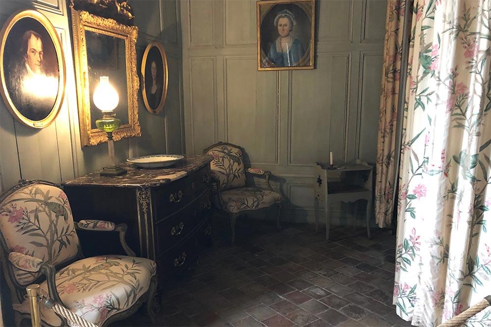 Château de Talcy : une chambre