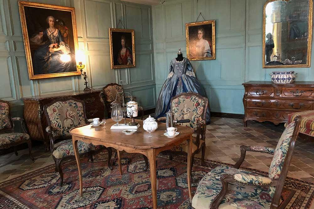 Château de Talcy : un salon