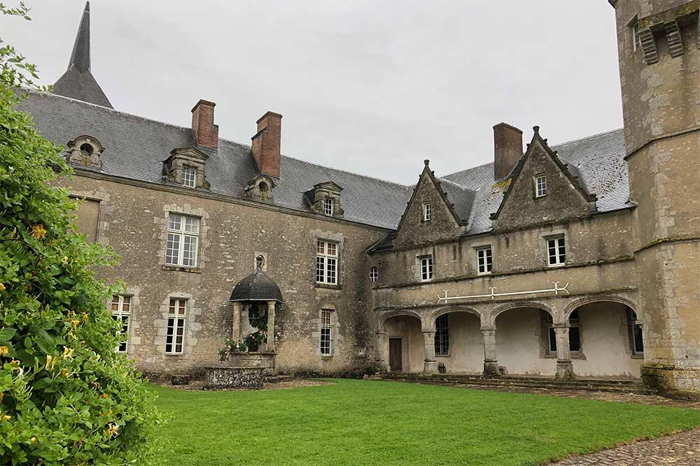 Château de Talcy en Val de Loire