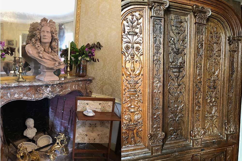 Château de Troussay : une magnifique armoire