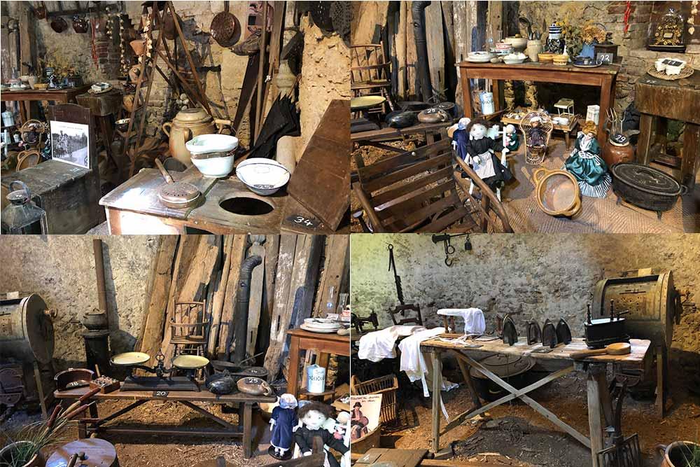 Château de Troussay : Le musée des objets anciens