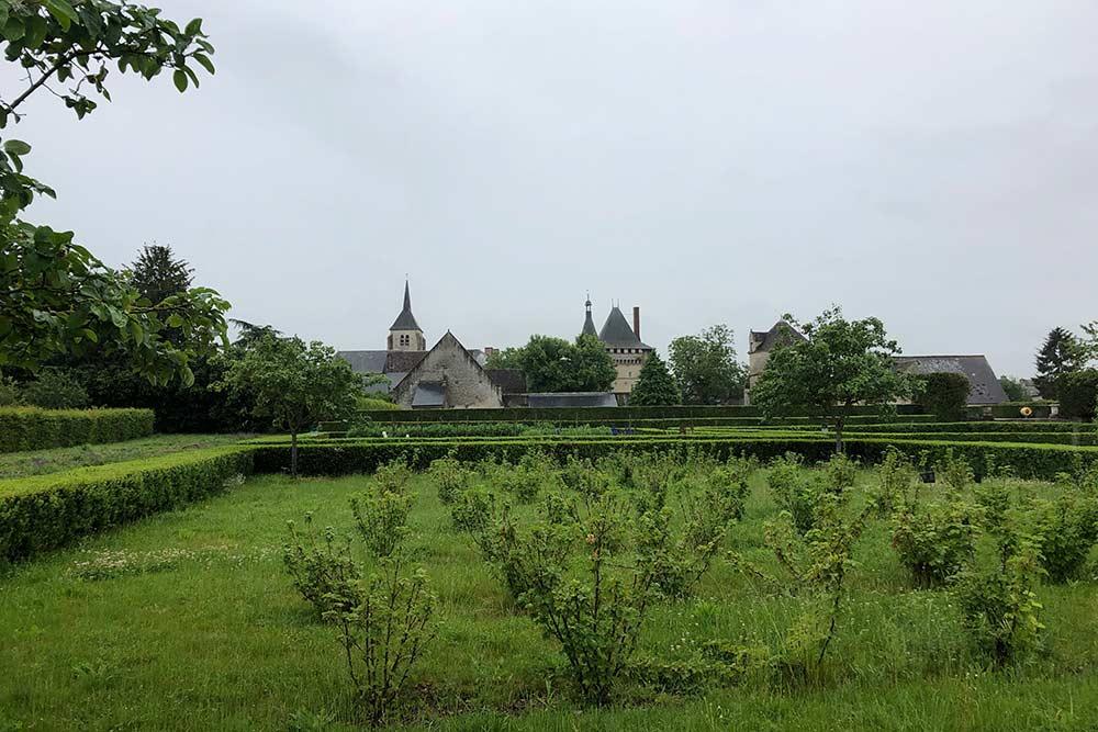Château de Talcy : le jardin