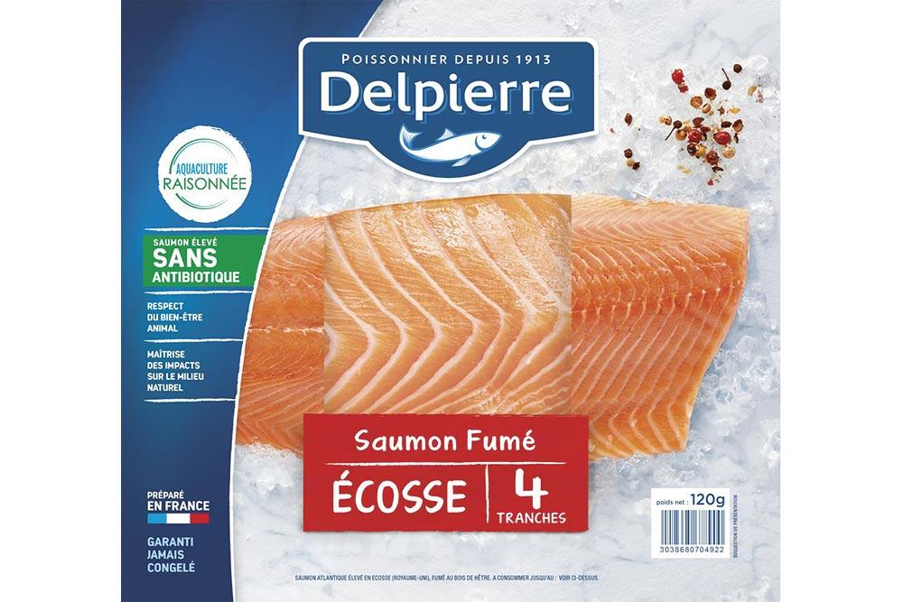 Delpierre : Saumon Fumé d'Ecosse
