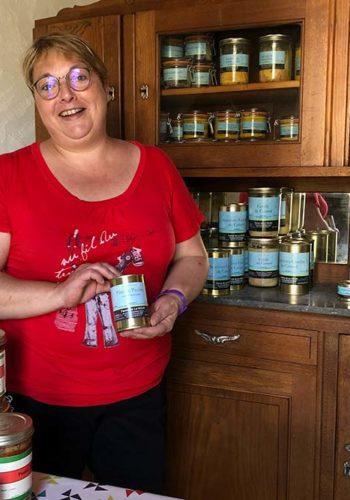 Ferme Le Houn : Karine Commarieu la fermière