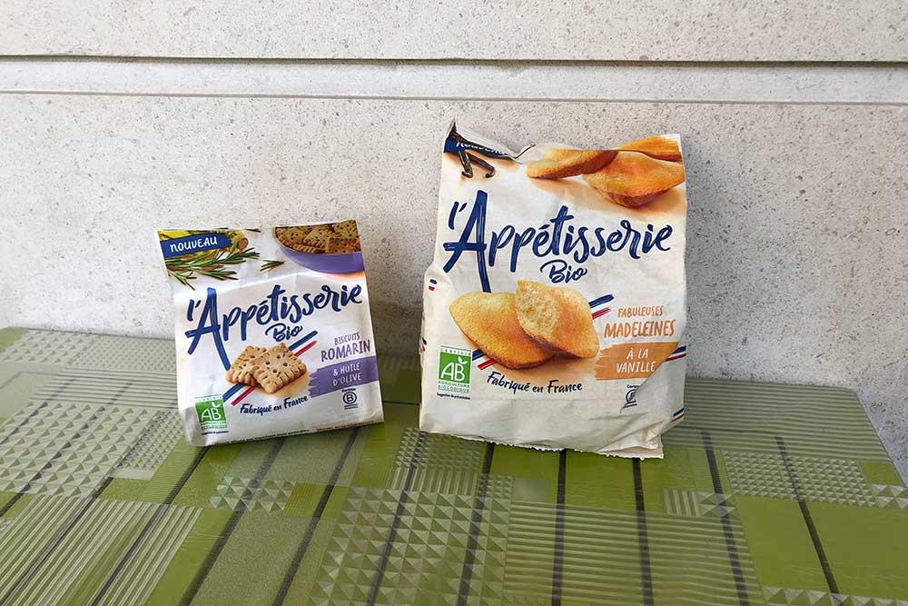 l-Appetisserie des madeleines bio