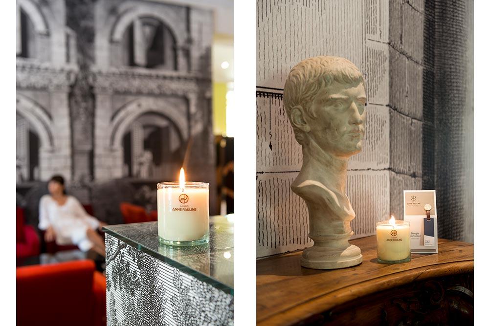 Maison Anne Pauline : Les bougies