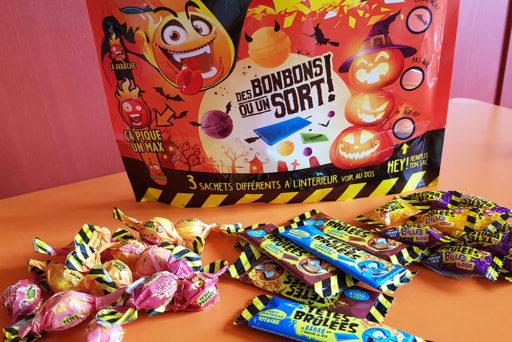 « Des Bonbons ou un Sort » pour Halloween !