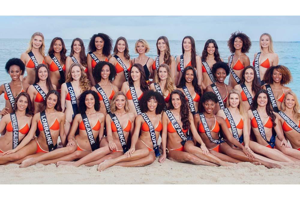 Les 30 candidates à l'élection de Miss France 2020