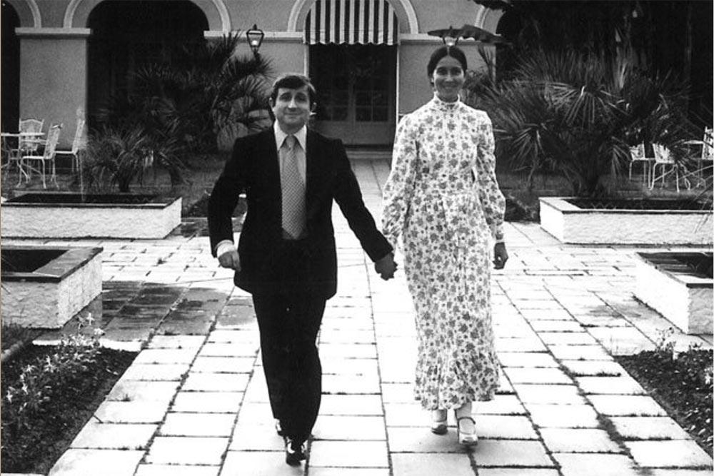 Christine et Michel Guerard en 1972 Les Prés d'Eugénie