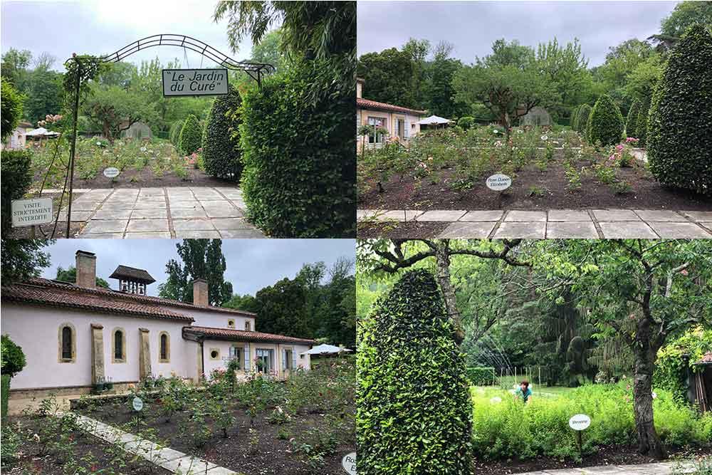 Le Couvent des Herbes : le jardin du Curé