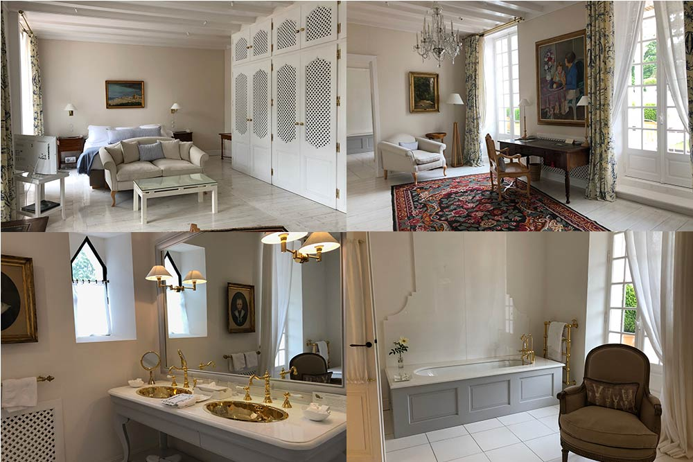 Une chambre du Palace