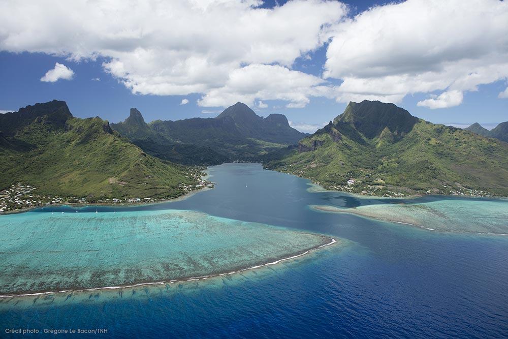 Moorea en Polynésie Française