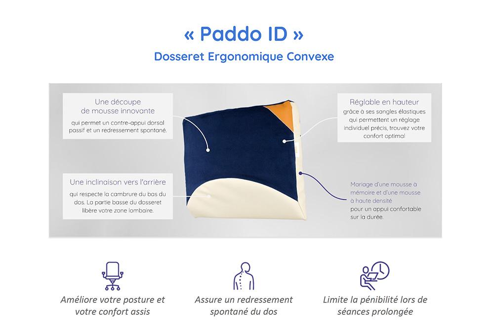 Confort ID - Dosseret Paddo ID