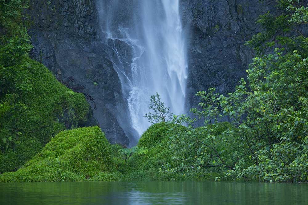 Chutte d'eau de Tahiti