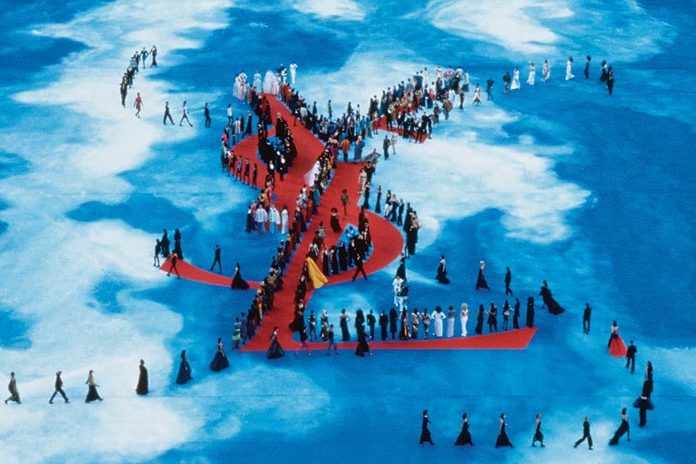Défilé Yves Saint Laurent