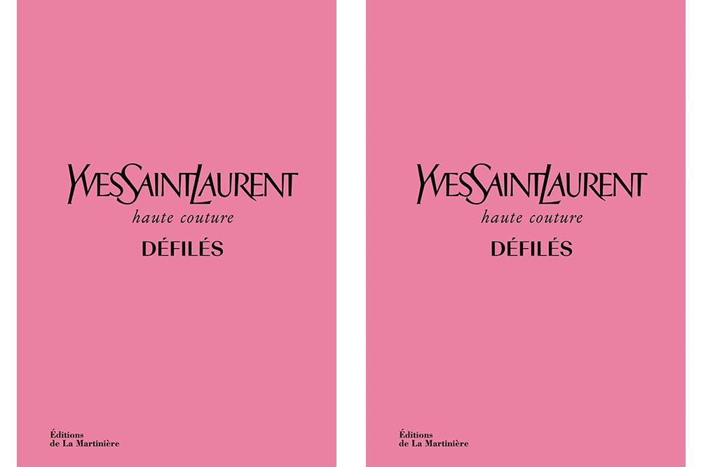 Livre Yves Saint Laurent Haute Couture Défilés