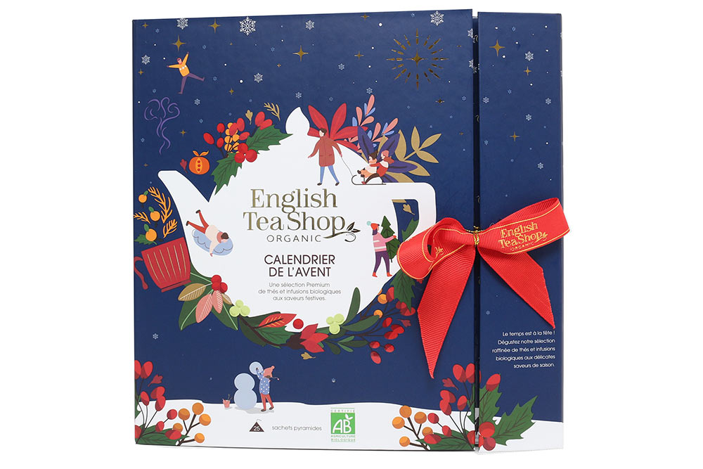 English Tea Shop : Le calendrier de l'Avent bleu