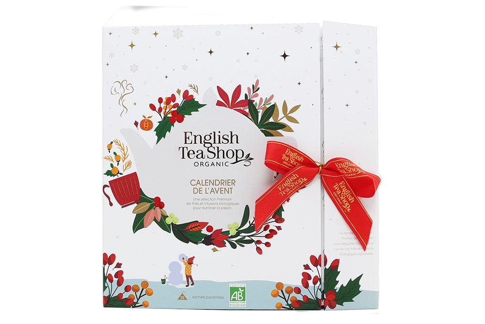English Tea Shop : Le calendrier de l'Avent blanc